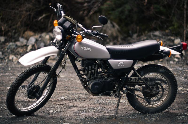 Yamaha Enduro Bikes - 1981 XT250