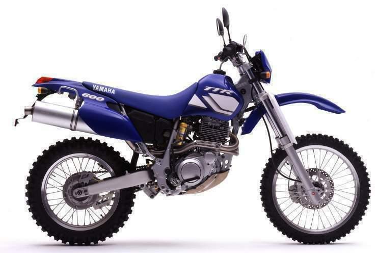 Yamaha Enduro Bikes - TT600R 1