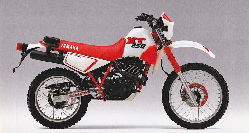 Yamaha Enduro Motorcycles - XT350