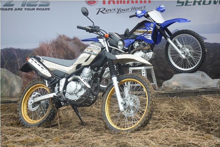 Yamaha Enduro Motorcycle 1