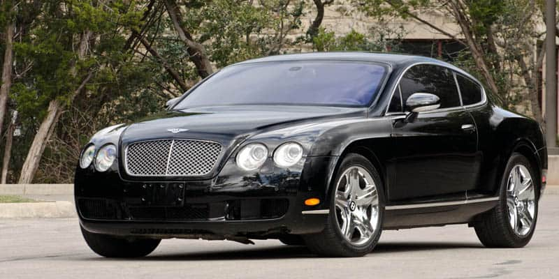 Anderson Silva Bentley Continental GT