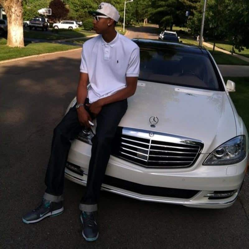 Anthony Davis Mercedes-Benz S550