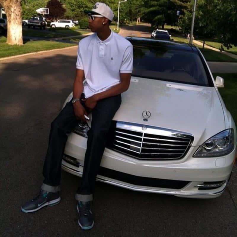 Anthony Davis Mercedes-Benz S550