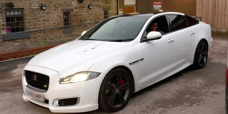 Anthony Joshua Jaguar XJR