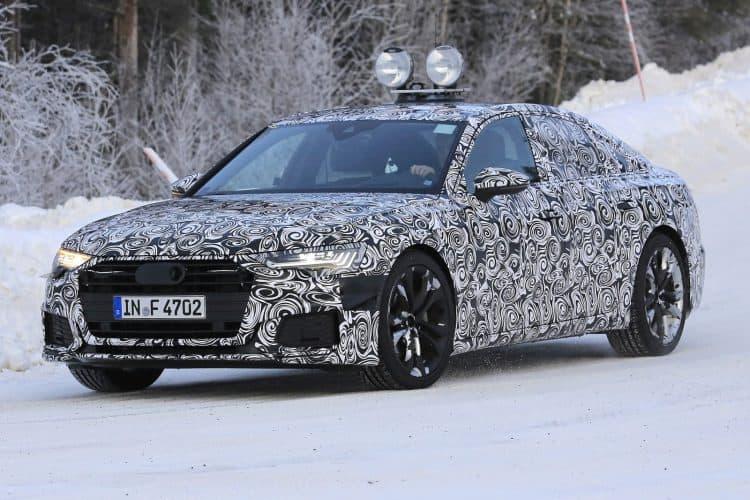 2019 Audi A6 test mule