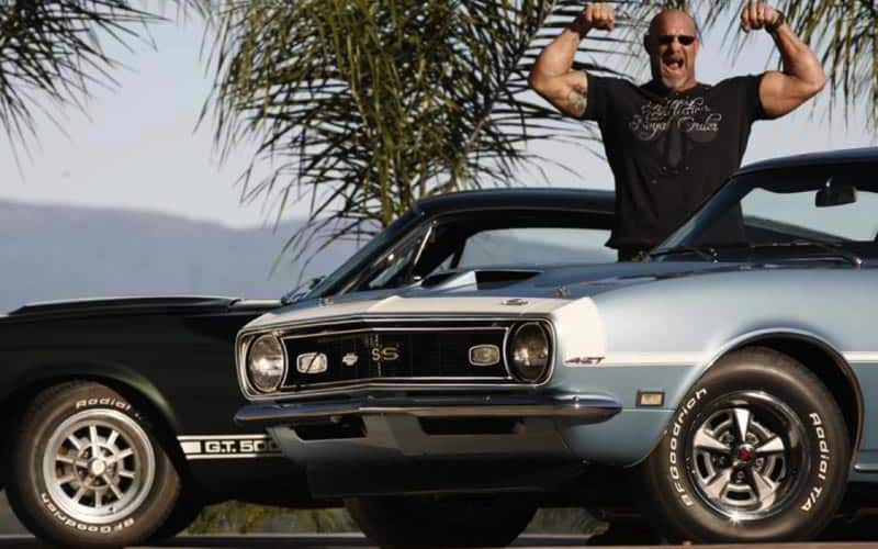 Bill Goldberg 1967 Shelby GT500