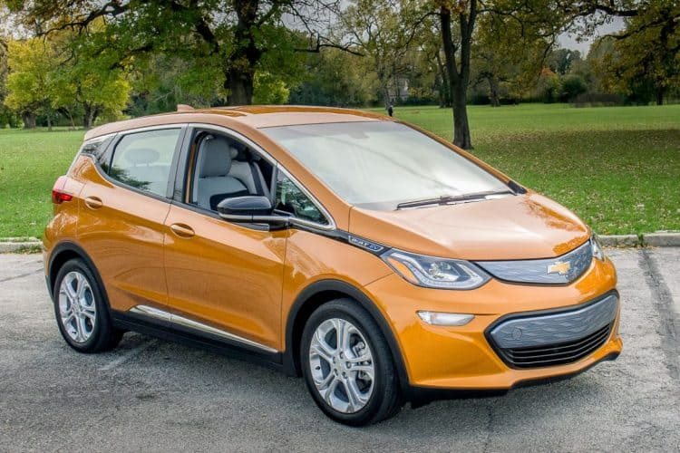 Chevrolet Bolt 3/4 view