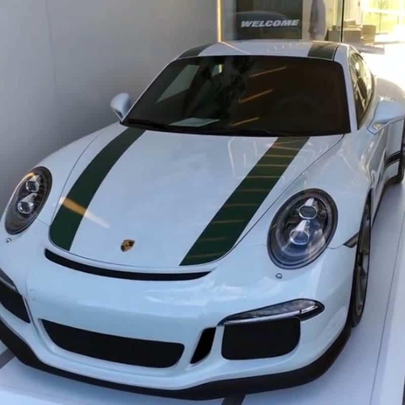 Brandon Marshall Porsche 911 GT3