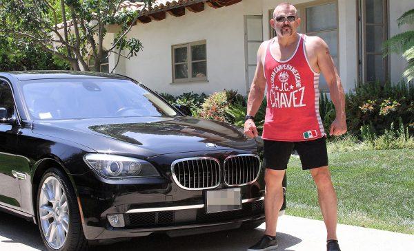 Chuck Liddell BMW 760li
