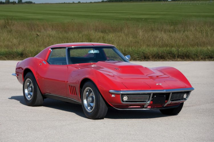 Corvette Stingray Front 3/4