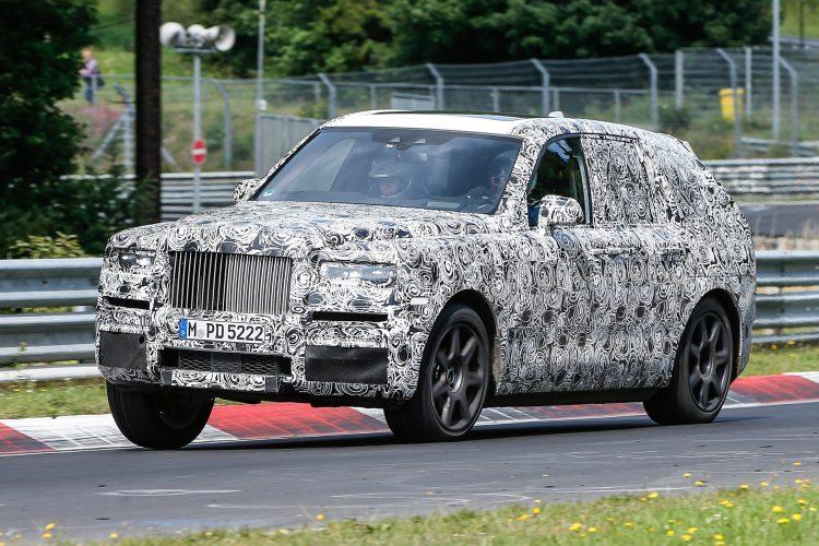 Rolls Royce Cullinan test mule