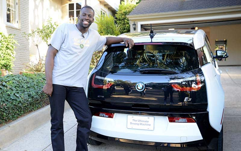 Draymond Green BMW i3