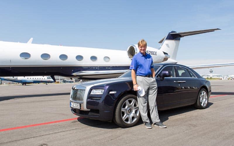 Ernie Els Rolls-Royce Ghost