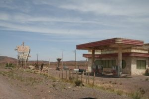 Gas station off the beaten path