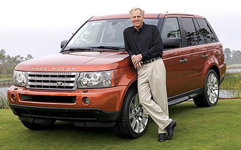 Greg Norman Range Rover
