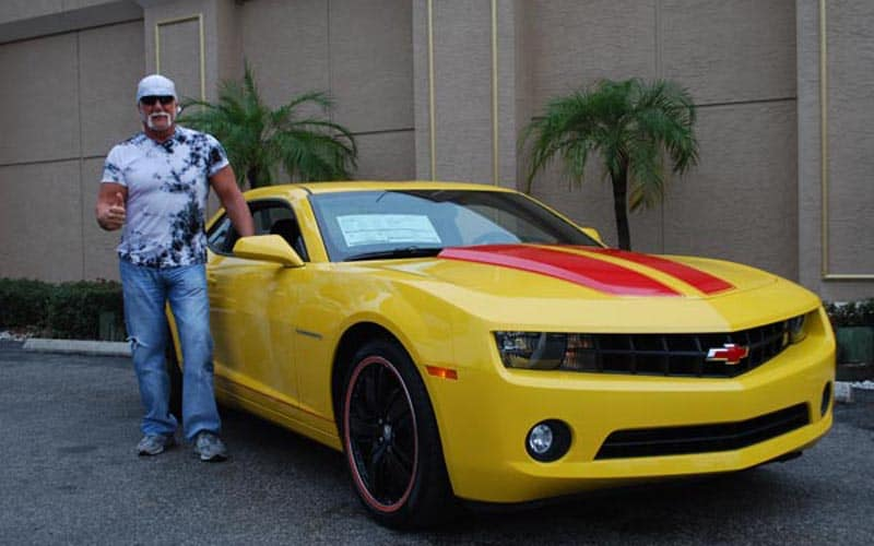 Hulk Hogan Chevrolet Camaro