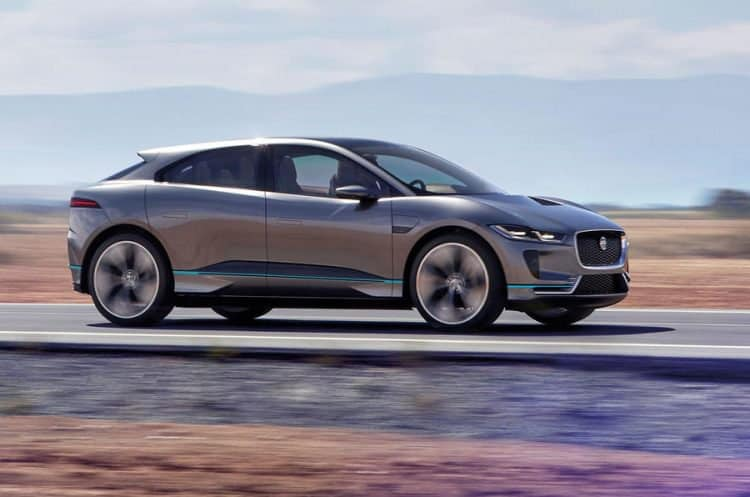 2019 Jaguar I-Pace side view
