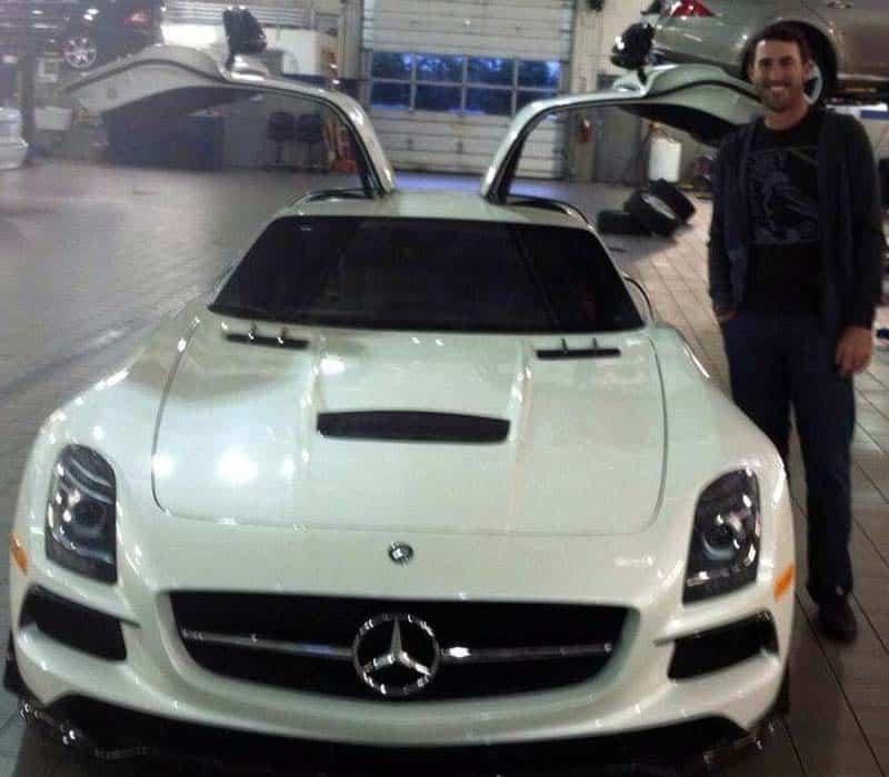 Justin Verlander Mercedes SLS AMG Black Series