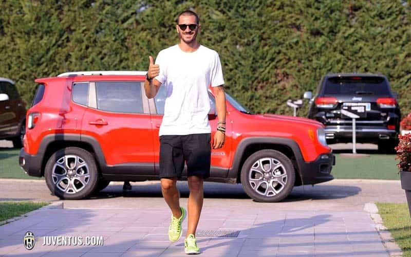 Leonardo Bonucci Jeep Renegade