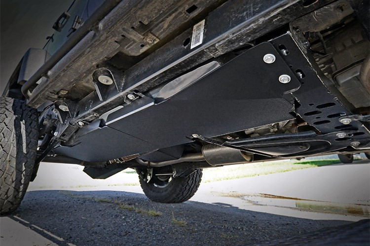 Protect the Undercarriage with Skid Plates
