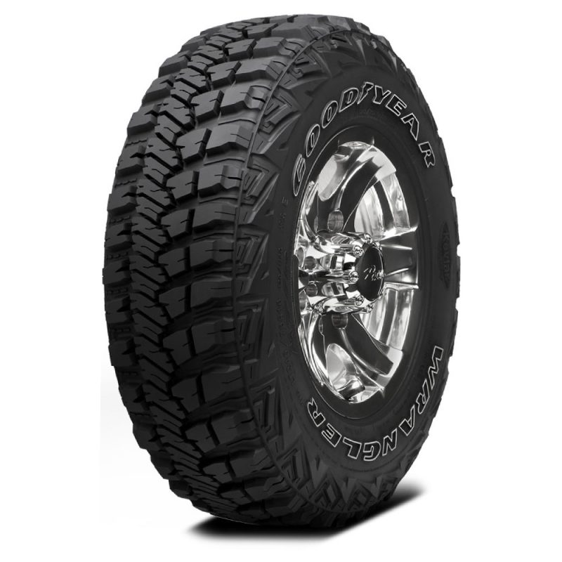 Fat, Knobby Tires are Great for Off-Roading
