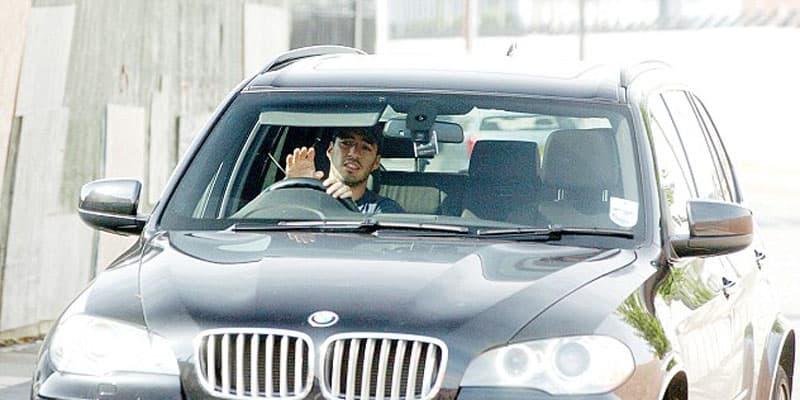 Luis Suarez BMW X5