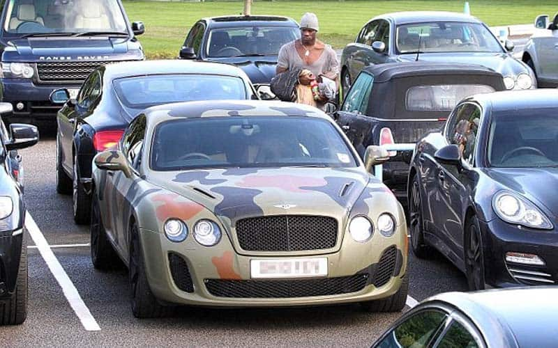 Mario Baloteli Bentley Continental GT