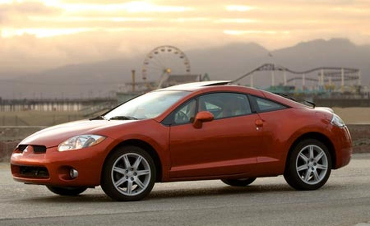The Fourth Generation Mitsubishi Eclipse Is A Girl Car.