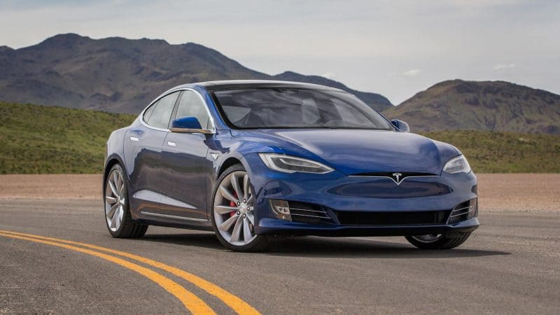 Future Hybrid Cars 2019 Tesla Model S Front 3 4 View