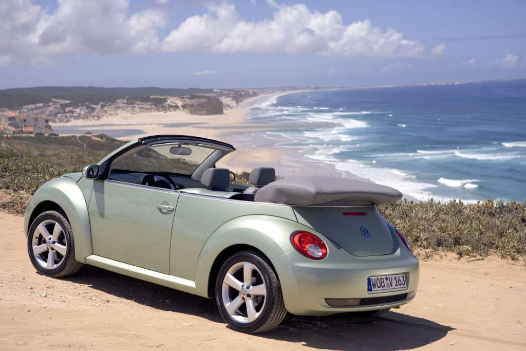 The VW New Beetle is a perfect example of a girl car