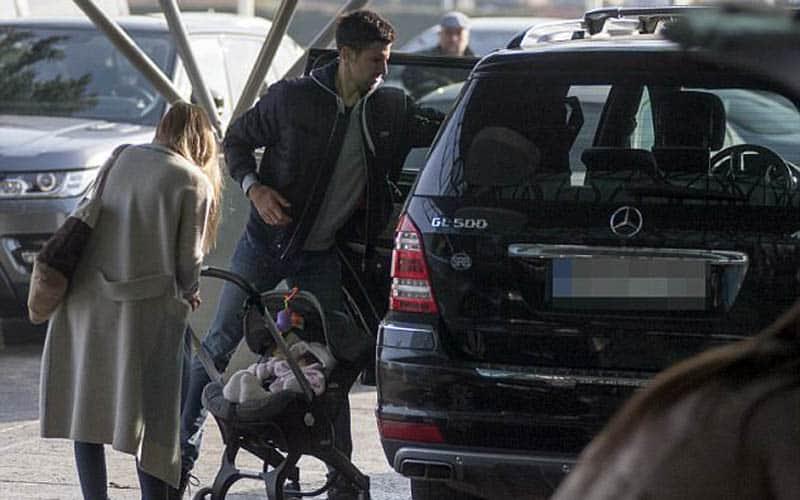 Novak Djokovic Mercedes GL
