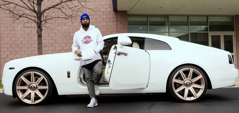 Odell Beckham JR Rolls Royce Phantom