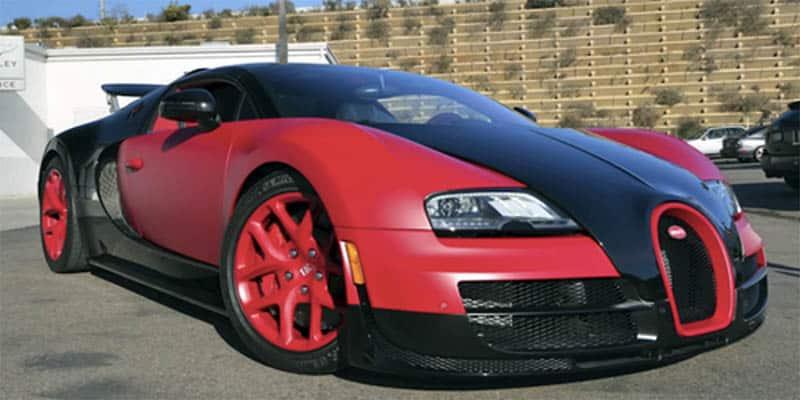 PK Subban Bugatti Veyron