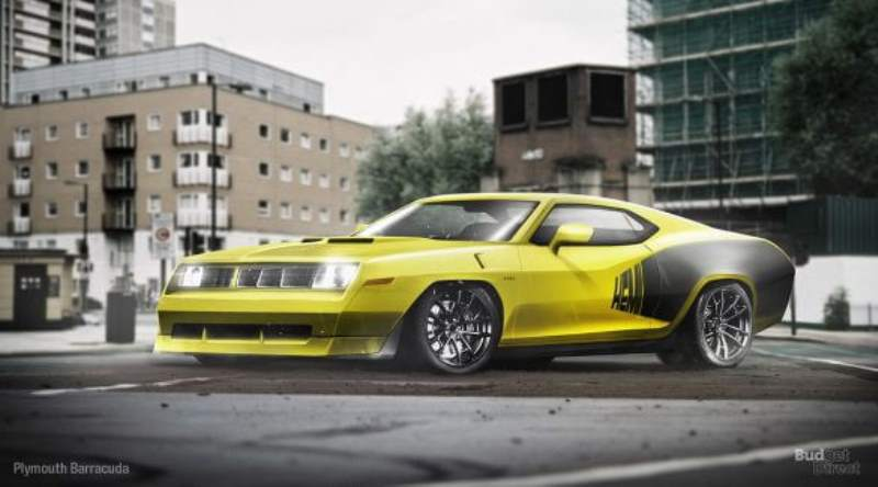 plymouth barracuda budget direct reimagined