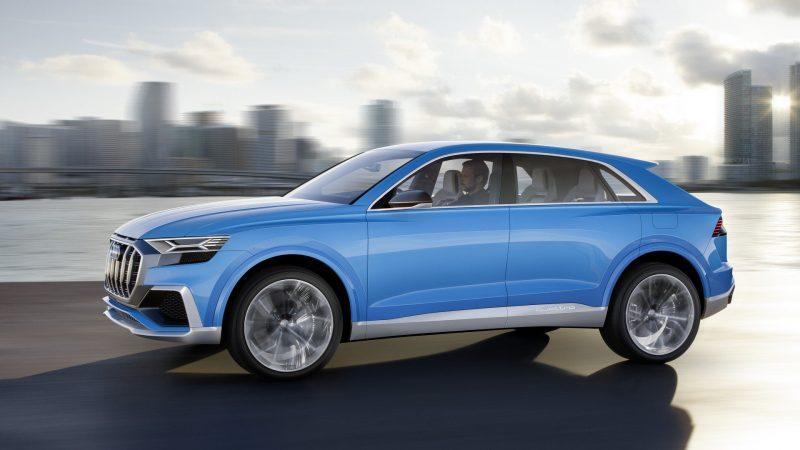 Best New Cars 2019 - Audi Q8 concept