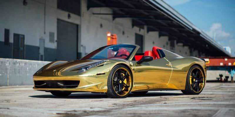 Robinson Cano Ferrari 458 Italia