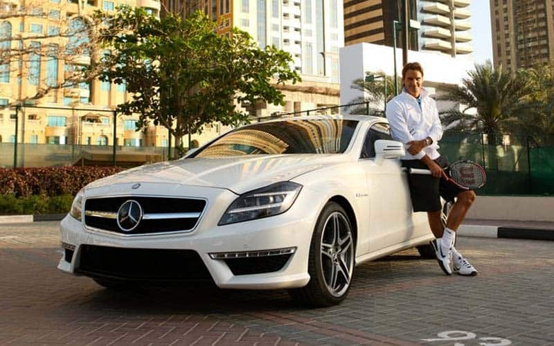 100 famous athletes and their cars