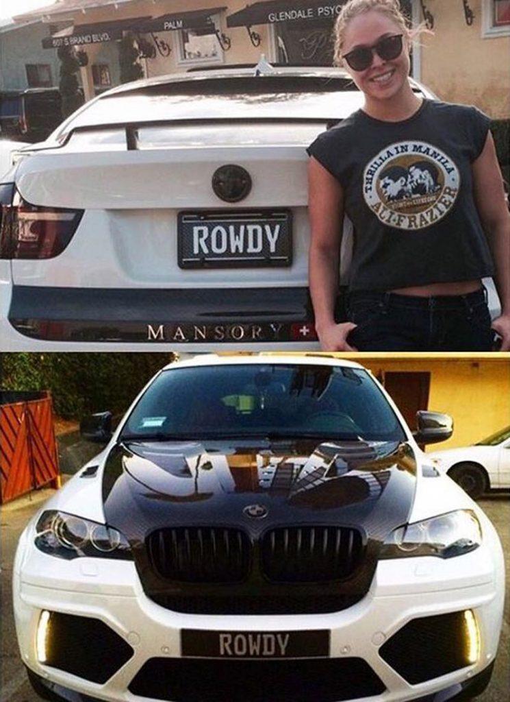 Ronda Rousey BMW X6 Mansory