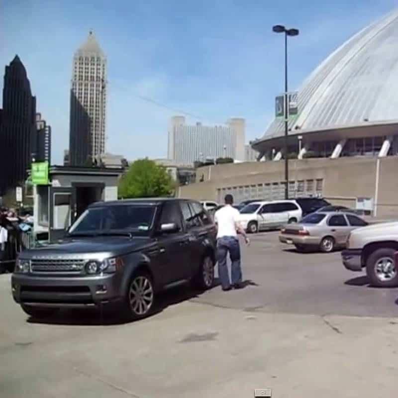 Sidney Crosby Range Rover