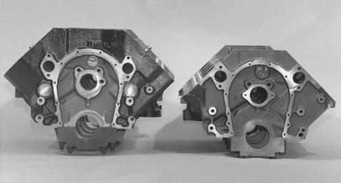 engine blocks big and small