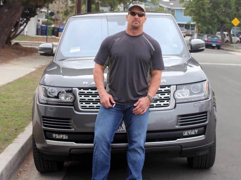Stone Cold Steve Austin Range Rover