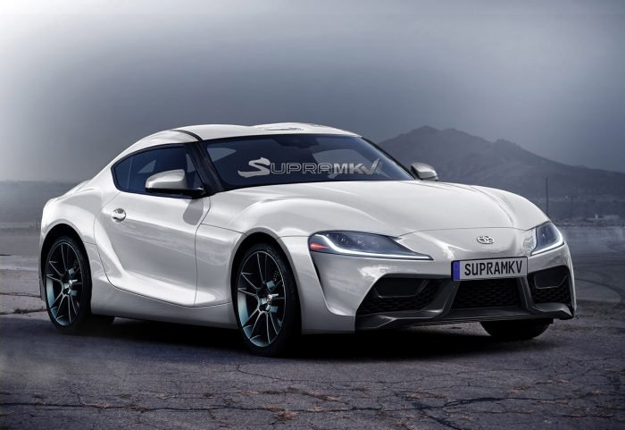 Toyota Supra Render Front 3/4