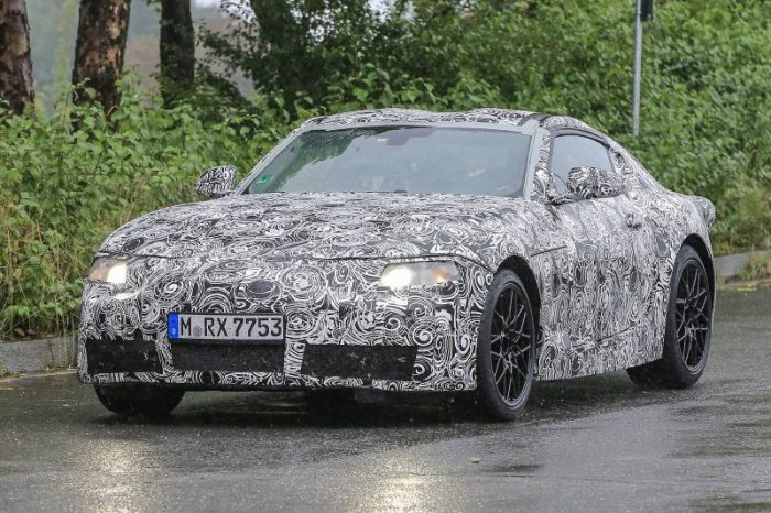 Toyota Supra test mule reveals how one of the best new cars 2019 is bringing our way might look like