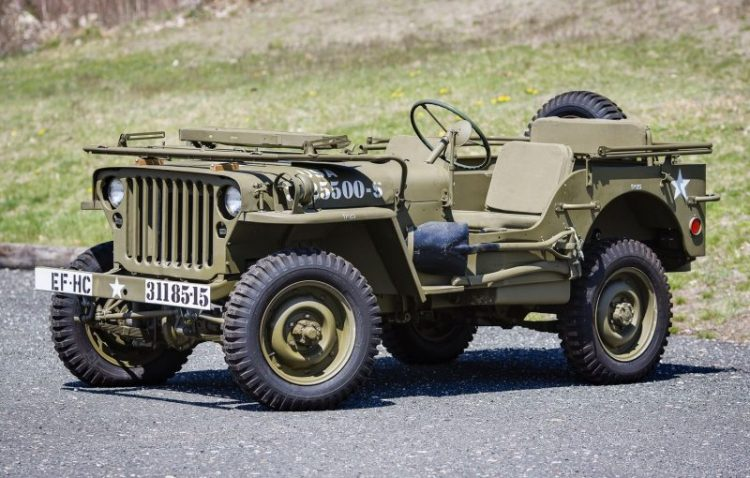 Willys Jeep Front 3/4