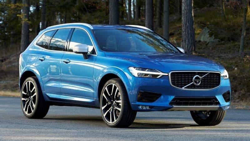 Future Hybrid Cars 2019 - Volvo XC60 3/4 view