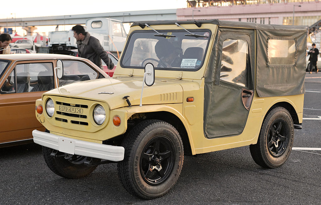 13 Suzuki Jimny Convertible SUVs