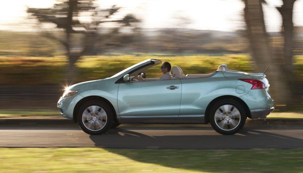 16 Nissan Murano CrossCabriolet convertible SUV