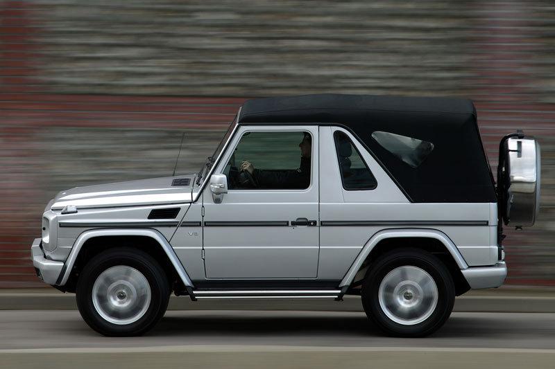 17 Mercedes G350 convertible SUVs