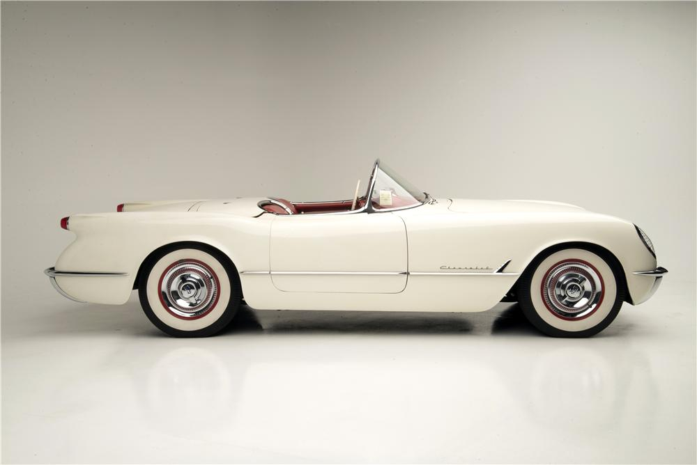 1953 Corvettes are hot cars