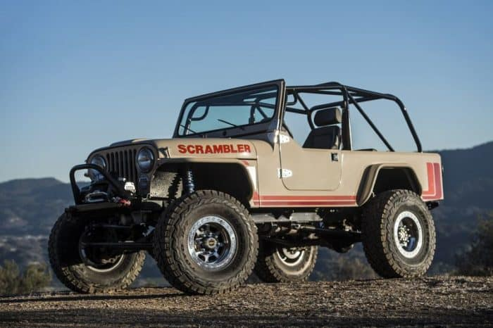 1981-1986 Jeep CJ-8 Scrambler